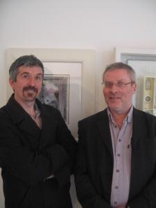 Derek Robertson and Rody Gorman