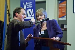Ian Blyth and Eleanor Livingstone