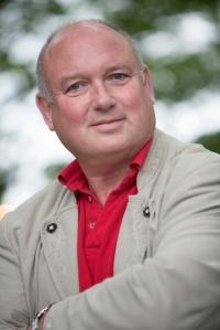 Louis de Bernieres in Edinburgh 2010