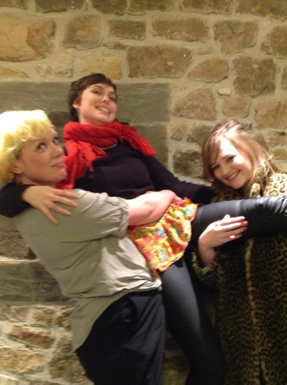 Rachel McCrum, Rachel Amey and Jenny Lindsay