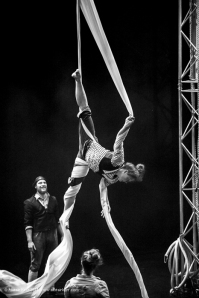 Square Peg Contemporary Circus, photograph by Alistair Kerr