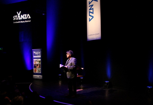 Paul Muldoon at StAnza by Helena Fornells Nadal