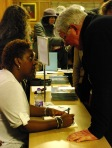 Tanya Shirley book signing,  photographer David Vallis