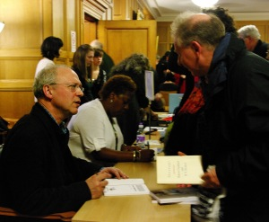 WH Herbert booksigning at StAnza 2015 (photo by Dave Vallis)